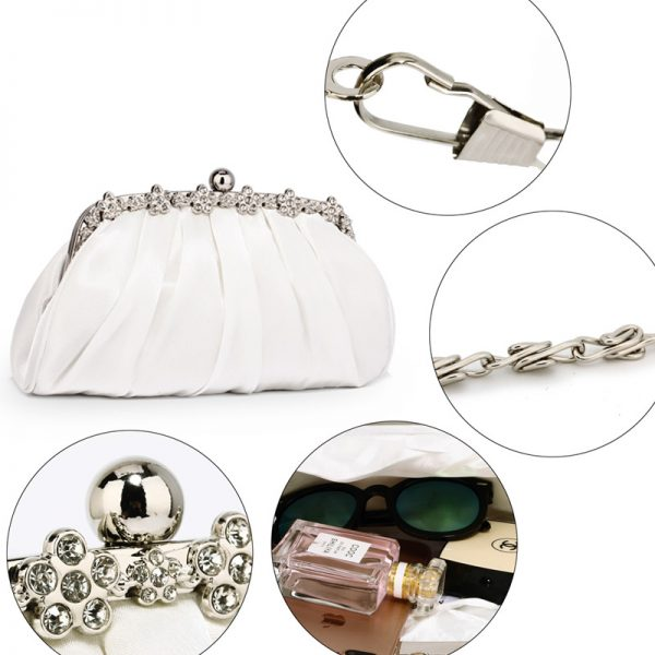 LSE0088 – Ivory Sparkly Crystal Satin Evening Clutch_5_
