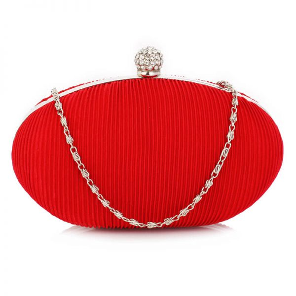 LSE0092 – Red Crystal Satin Evening Clutch_1_