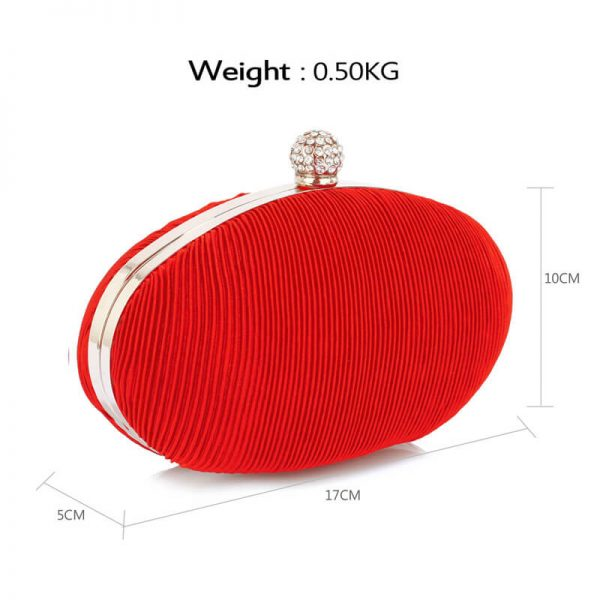 LSE0092 – Red Crystal Satin Evening Clutch_2_