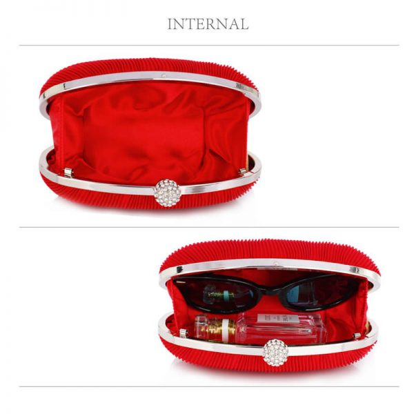 LSE0092 – Red Crystal Satin Evening Clutch_4_