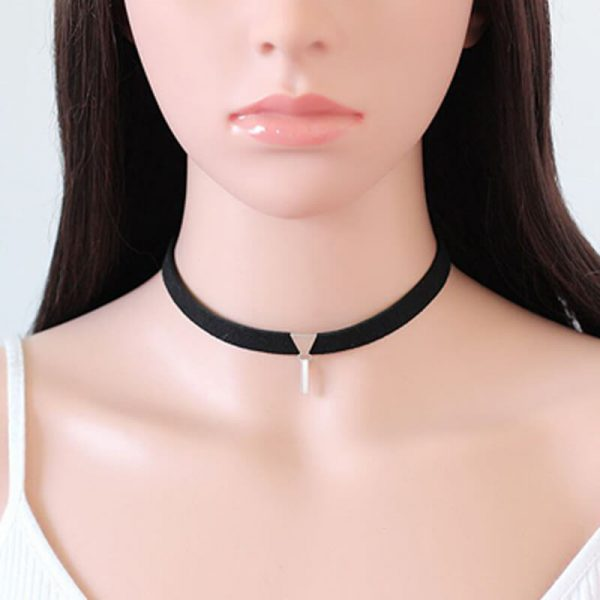 Velvet Choker Necklace AN97 –