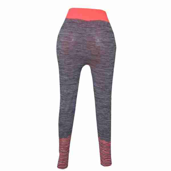 ZL11 – 1 – Orange Ladies Sports Yoga Exercise or Daily Use Legging Tights
