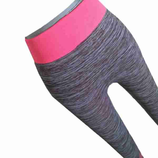 ZL11 – 1 – Pink Ladies Sports Yoga Exercise or Daily Use Legging Tights