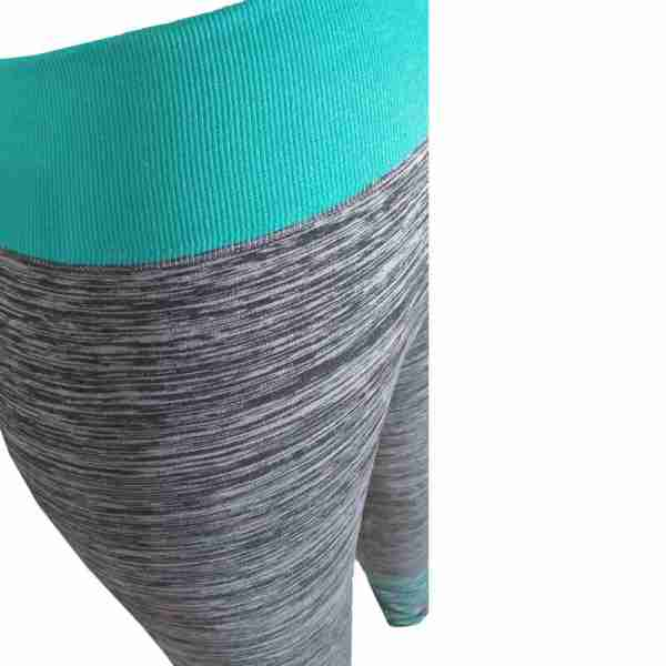 ZL11 – 2 – Green Ladies Sports Yoga Exercise or Daily Use Legging Tights