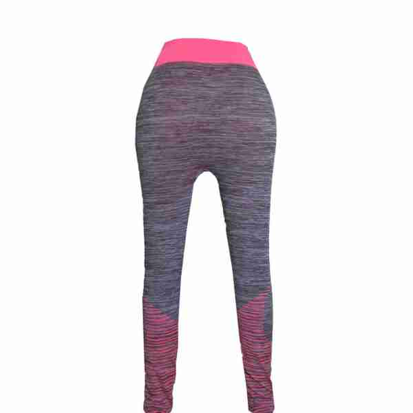ZL11 – 2 – Pink Ladies Sports Yoga Exercise or Daily Use Legging Tights