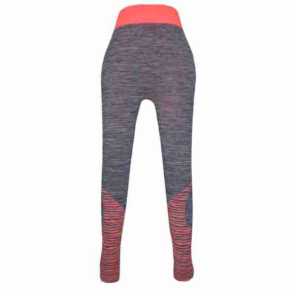 ZL11 – Orange Ladies Sports Yoga Exercise or Daily Use Legging Tights