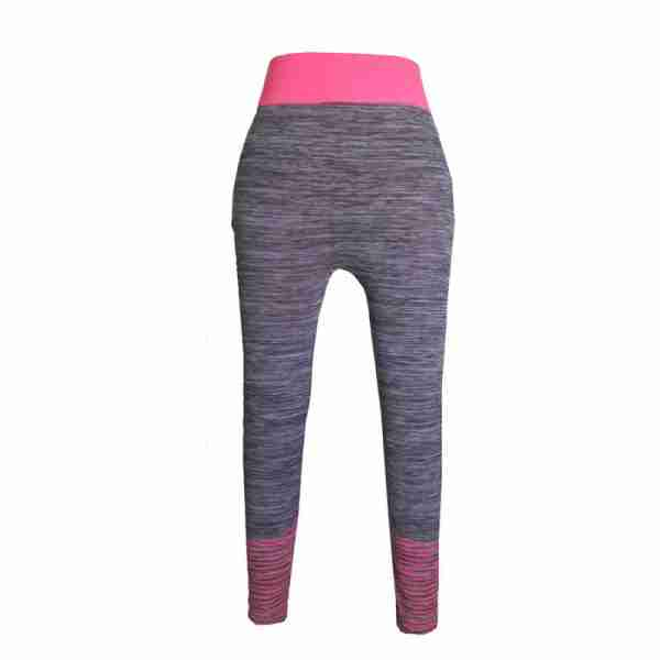 ZL11 – Pink Ladies Sports Yoga Exercise or Daily Use Legging Tights