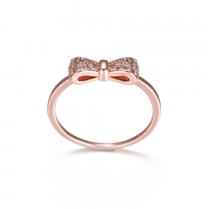 Gold BowKnot Ring
