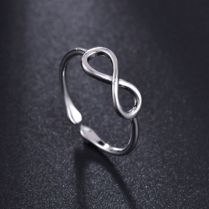 Girls Ring - Silver - Adjustable