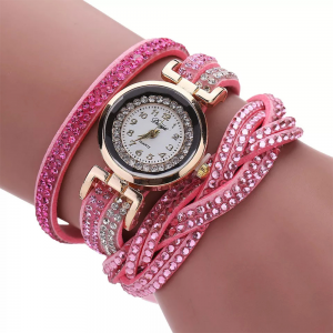 Fashion Bracelet Watch Pink