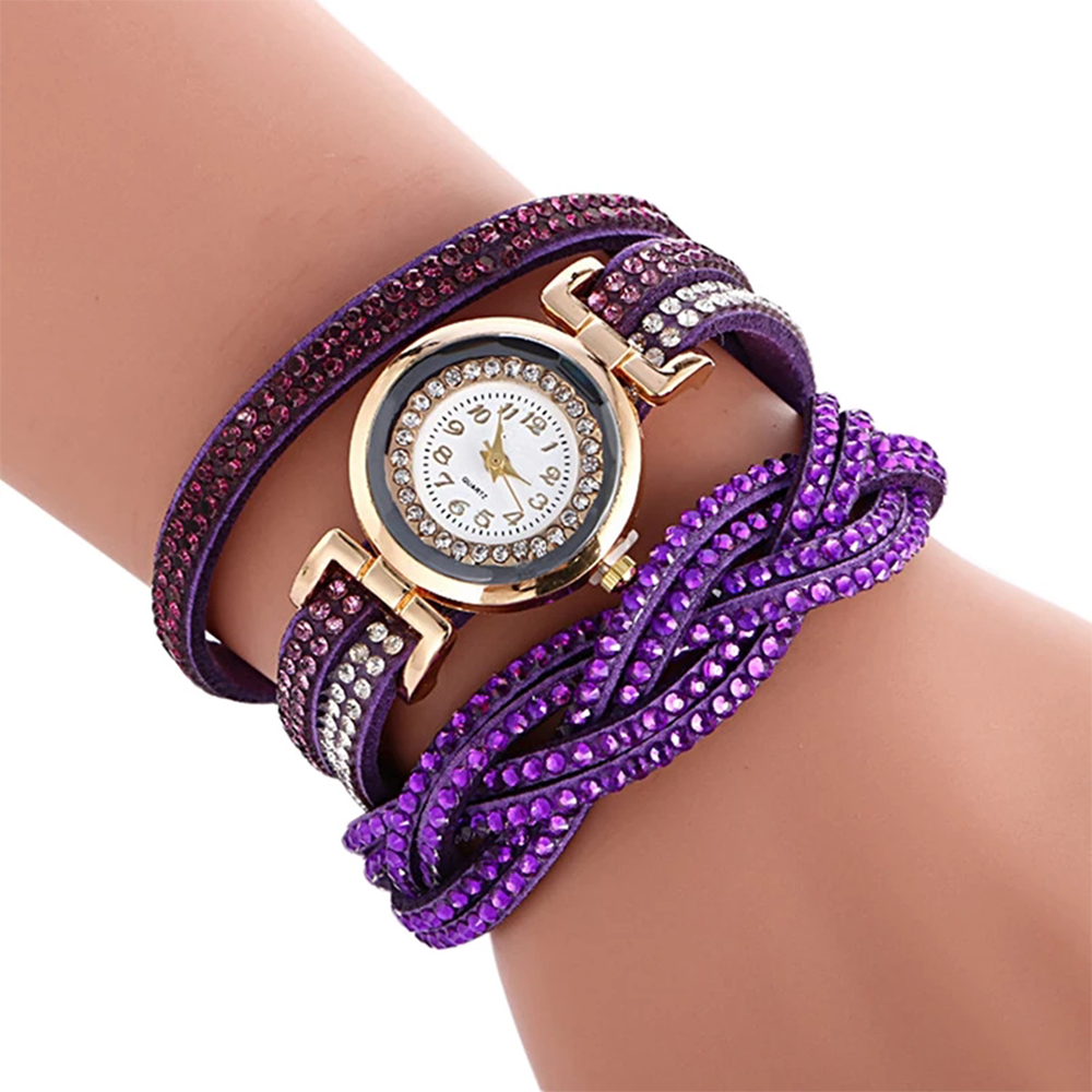 Bracelet Watch Purple