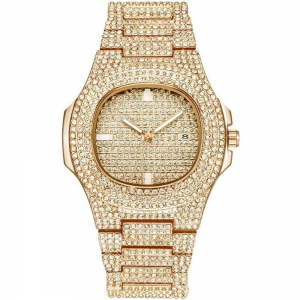 Diamante Watch For Women Golden