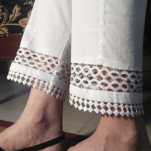 Trouser for Women with Laces 1