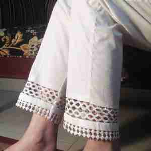Trouser for Women with Laces 2