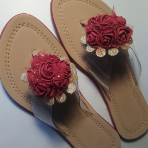Floral Ladies Flat Shoes 2