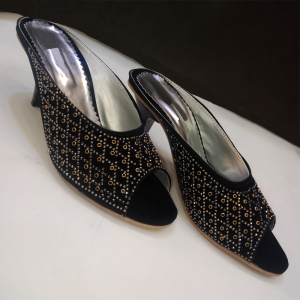 Formal Heels With Beads Work 1