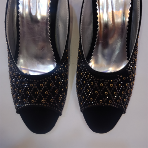 Formal Heels With Beads Work 2