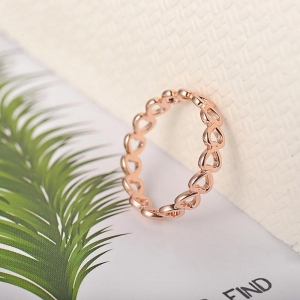 Gold adjustable ring for women 1