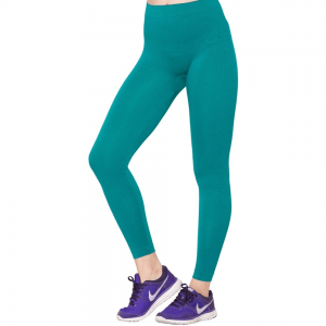Sea Green Stretchable Leggings Lycra Tights