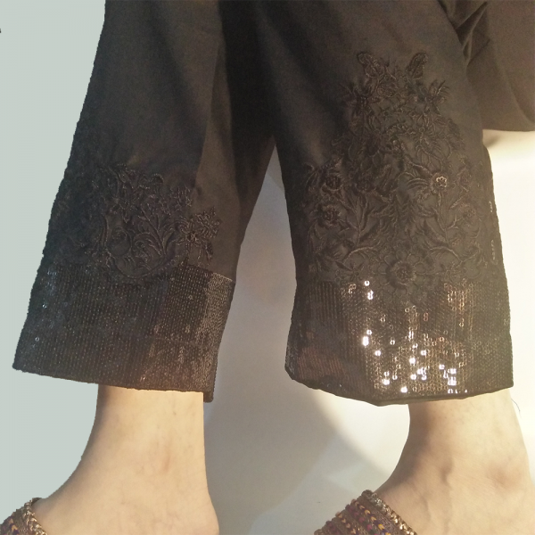 Black-Embroided-Trouser-Pant-2