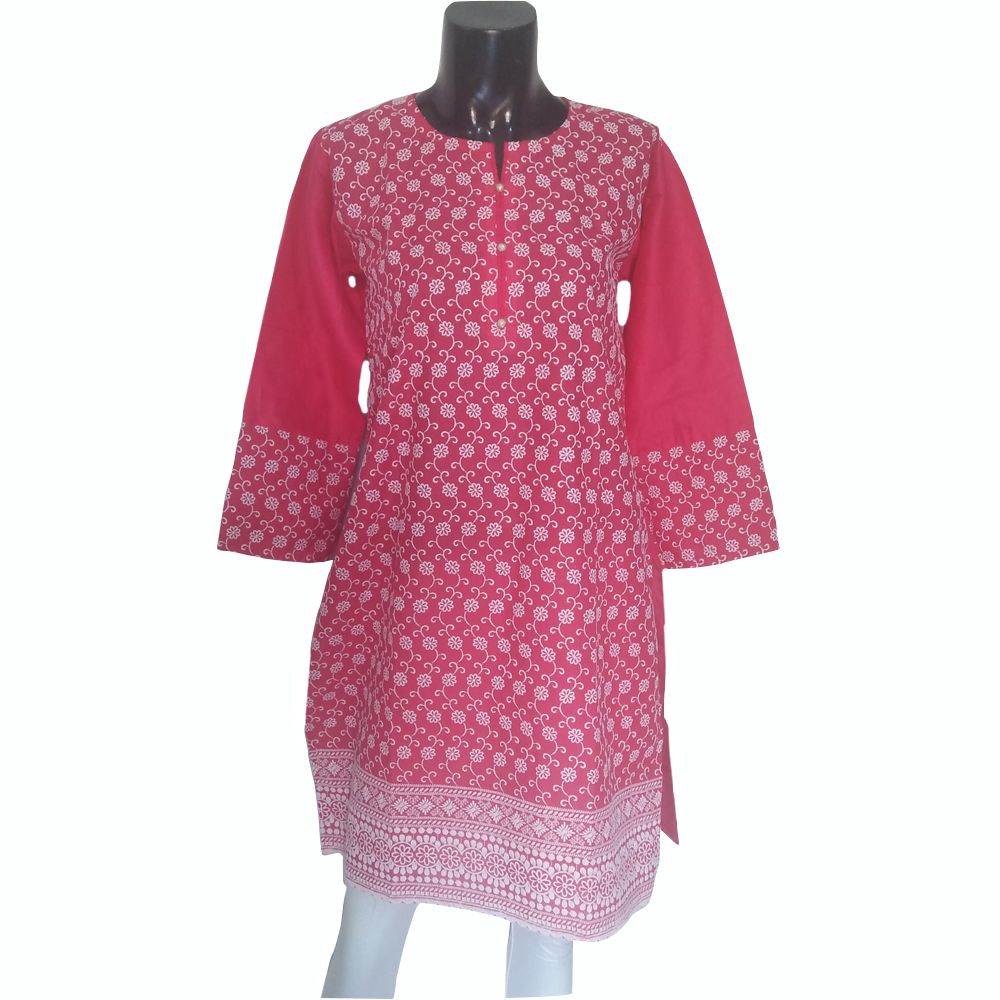 Embroided Kurti Top For Women 1