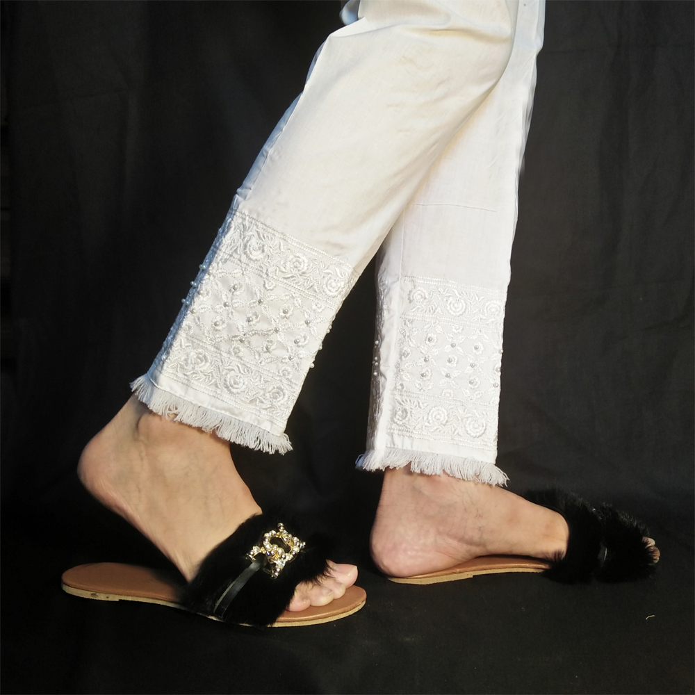 Embroided Trouser Pant 1