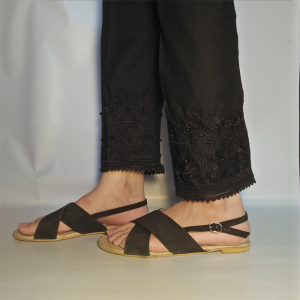 Embroided Trouser Pant For Women 1