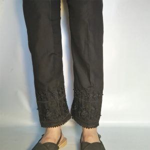 Embroided Trouser Pant For Women 2