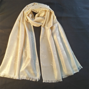 Gold Shinny Scarf golden 1