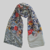 Large Lawn Floral Scarf For women 1