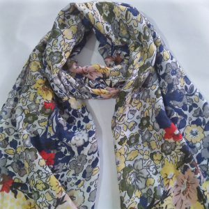 Large Lawn Floral Scarf For women 2