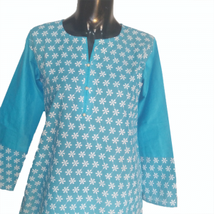 Lawn Embroided Kurti Top For Women 2