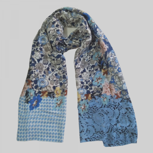 Lawn Floral Scarf For women 1