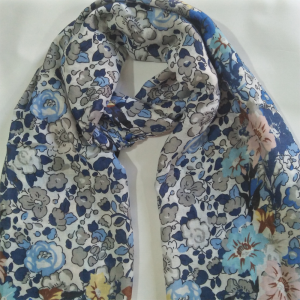 Lawn Floral Scarf For women 2