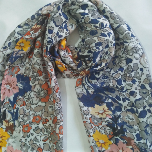 Lawn-Floral-Scarf-For-women-2