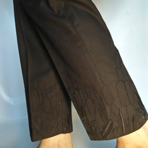 Pant Straight For Women Embroided 1