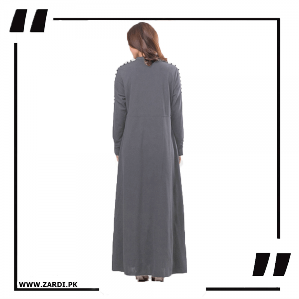 ZA20 Grey Maxi with A Line Style