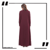 ZA20 Maroon 1 Maxi with A Line Style