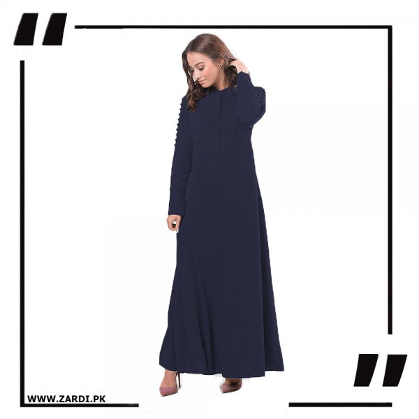 ZA20 Navy Maxi with A Line Style 1