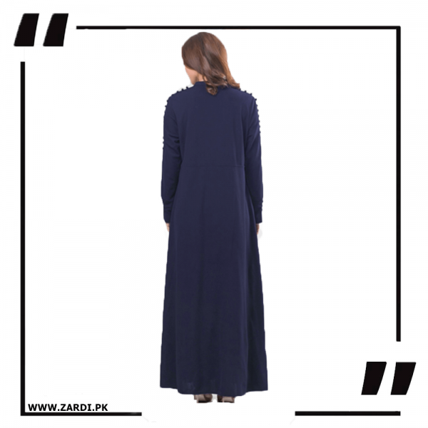 ZA20 Navy Maxi with A Line Style