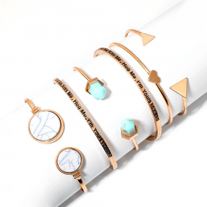 6 Piece Bracelet Bangle Set For Women