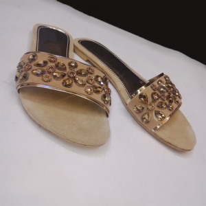 Formal Flats For Women Beige 2