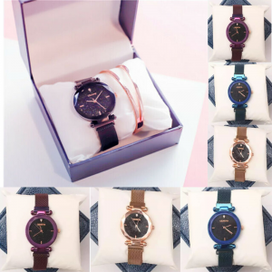 Starry Sky Magnetic Watch Strap Grid
