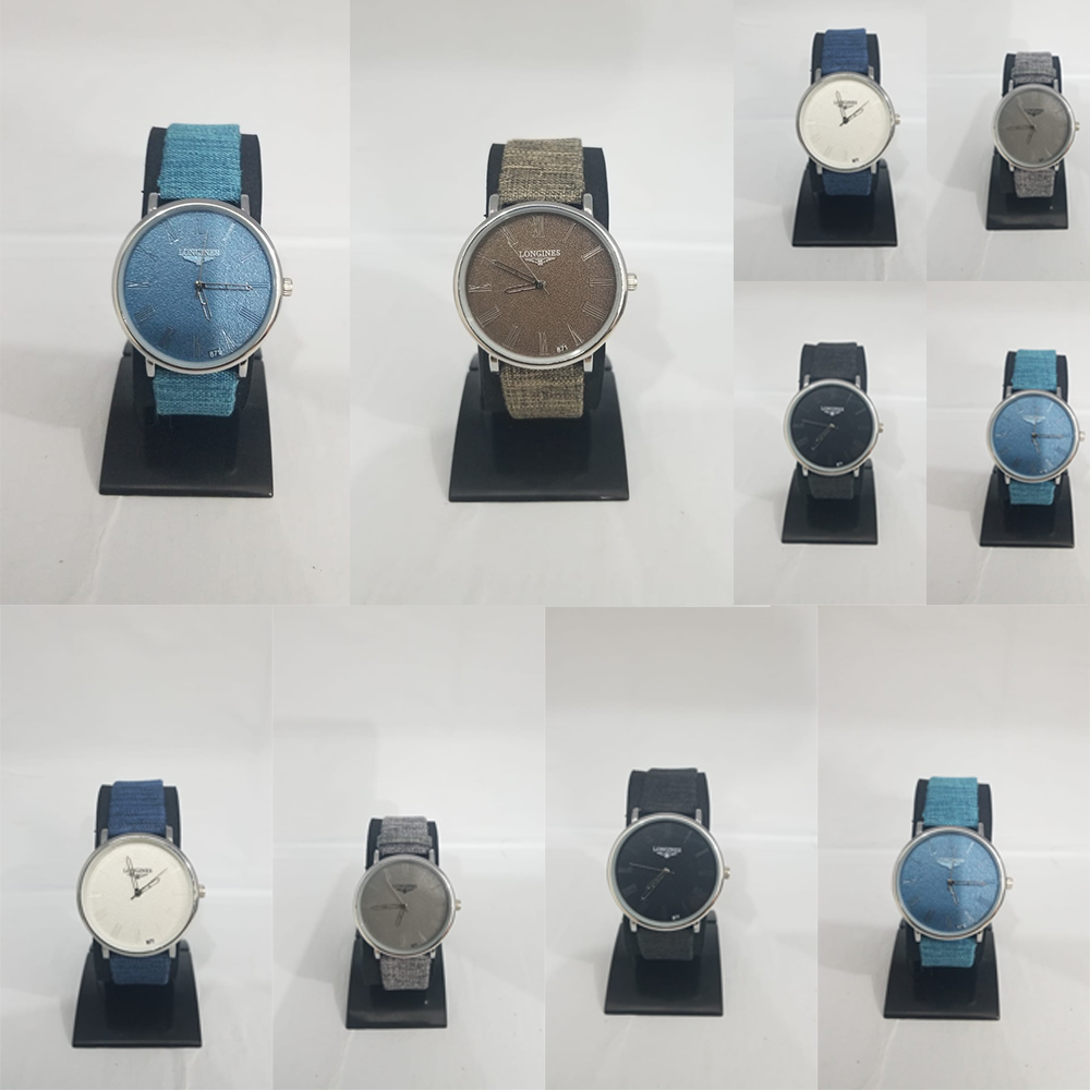 Jeans Strap Watches Grid
