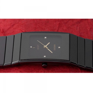 Jubilee Men's Casual Watch Rado Black Watch 2