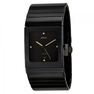 Jubilee Men's Casual Watch Rado Black Watch