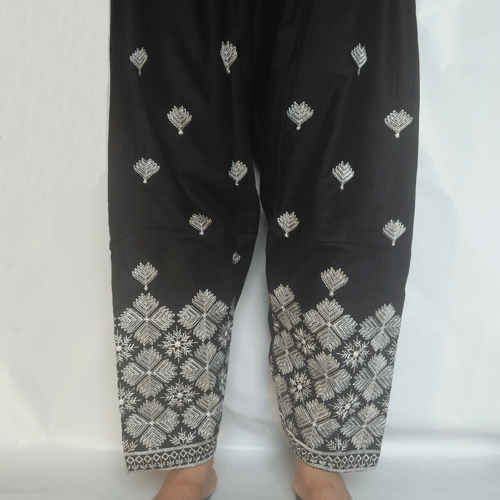 Embroided Shalwar For Women Ladies Cotton Lawn For Summer