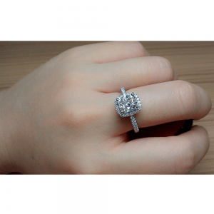 AAA Zircon Diamante Ring For Women Ladies -