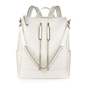 Ivory Backpack Rucksack School Bag