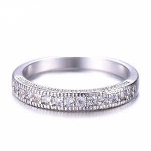 Sterling Silver - Silver - Ring For Ladies